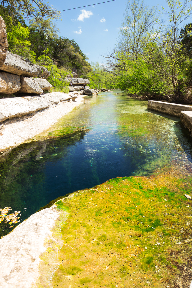 jacobs well is a hole in the ground and one of the most unique hidden gems in texas