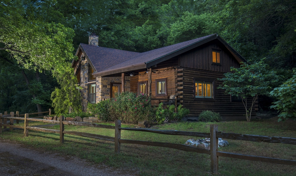 blazos bluffs ranch one of the best log cabins in texas