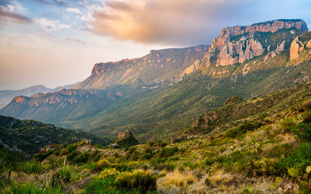 photo of the view at Big Bend National Park