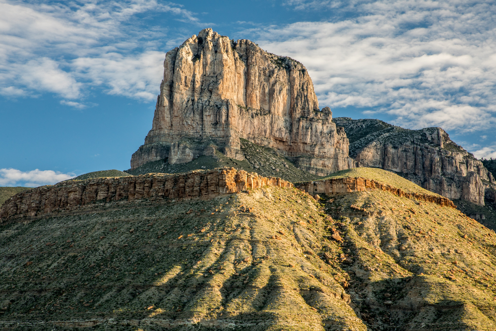 photo of the mountains at Guadalupe Mountains National Park