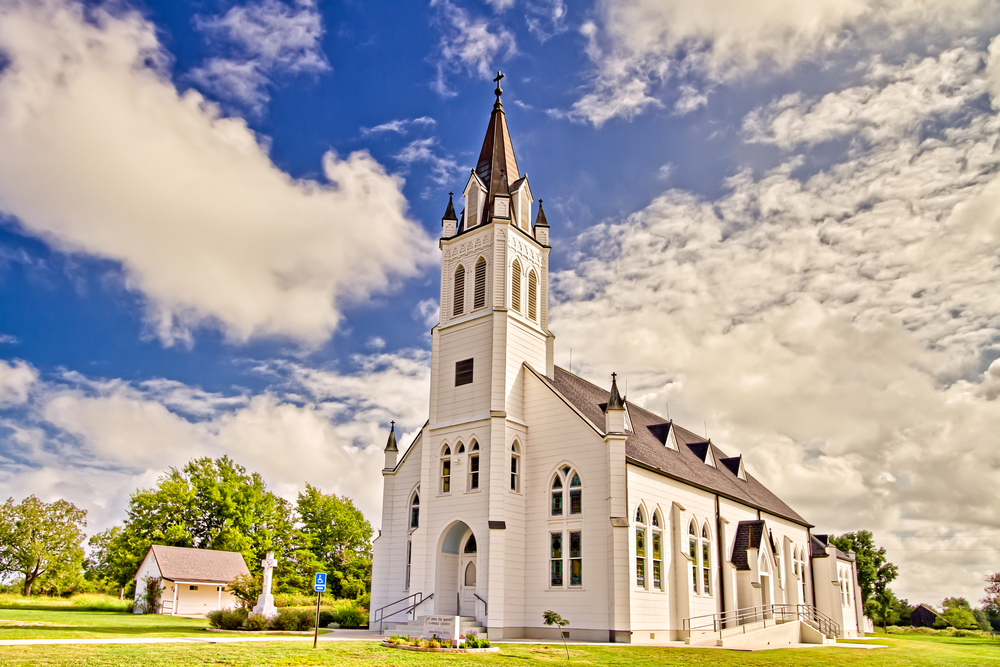painted church in Schulenburg