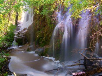 gorman falls is one of the prettiest waterfalls in texas