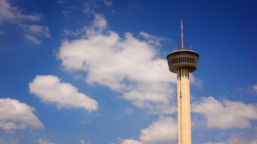 tower in Hemisfair Park, one of the best parks in San Antonio!