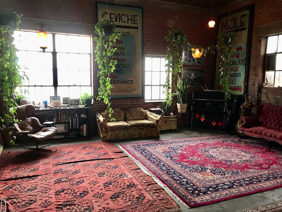 the Artist Studio/Loft in Southtown is one of your options for San Antonio Airbnbs